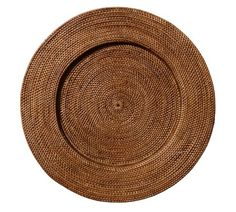Crafted of naturally sturdy and beautiful rattan, our Round Tava Charger is the perfect backdrop for white or colorful dinnerware. KEY PRODUCT POINTS Hand woven of natural rattan. Free Interior Design, Interior Design Services, Pottery Barn Look, Printed Napkins, Room Planner, Charger Plates, Plate Chargers, Fall Table, Plate Sets