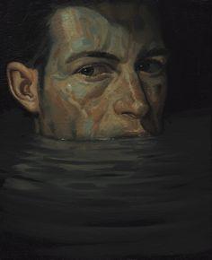 Massimo Pedrazzi#Subimmersion1#olio su tela 30x20cm, 2016