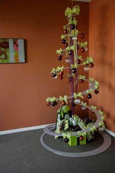 Christmas Tree alternative!!! Bebe'!!! Another modern alternative holiday tree!!!