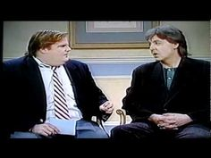 Chris Farley interviews Paul McCartney