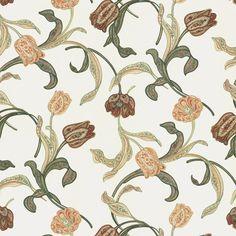 Geschenkpapier Tassotti Jugendstil Tulpen von Feines Papier auf DaWanda.com