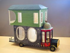 Good Sam Showcase of Miniatures: Structures| truck/house