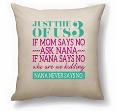 I just love the new pillows in the New Spring Catalogue!!! This is such a true saying! You can write your own story on 2 different size pillows. Want to see what your pillow could look like? Ask me how!!!!!