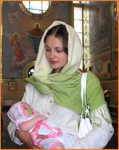 After Orthodox baptism