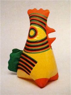 "Evzenie Konarikova ""Hen"" 1981 (avant-garde toys)"