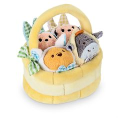 Disney ''Tsum Tsum'' Plush Mini Easter Basket Set