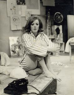 Maggie Smith photographed by Manuel Harlan in 1965