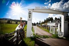Weddings at Deer Creek Valley Ranch, Bailey, Colorado.