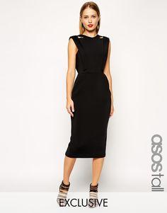 ASOS TALL Exclusive Premium Structured Dress