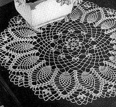 Cornfield Doily Pattern #D-126