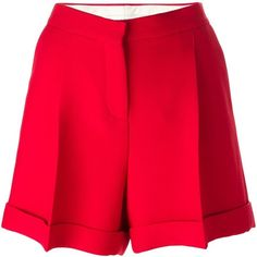 RED VALENTINO Tailored Shorts. #redvalentino #cloth #shorts | Red ...