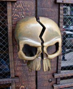 #Skull Door handle More