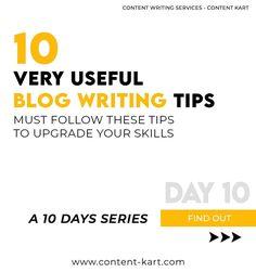 Blog Writing Tips, Marketing Calendar, Contentment, Writing Services, 10 Days, Content Marketing, Writer, Template, Website