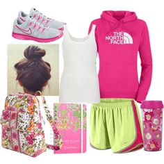 """""""Class at 8:00AM"""" by qtpiekelso on Polyvore"""