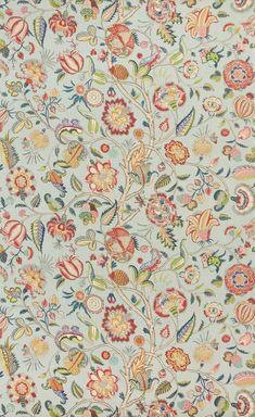 Fantastic print aqua/rose decorating fabric by Brunschwig Flower Background Wallpaper, Flower Backgrounds, Background Patterns, Vintage Wallpaper Patterns, Pattern Wallpaper, Aqua Rose, Plant Drawing, Botanical Drawings, Textured Wallpaper