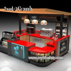 Food Kiosk Design For Indoor & Outdoor, Best Manufacturer of Food Kiosk In China. Custom commercial Food Cart for sale, Affordable price. Small Restaurant Design, Restaurant Plan, Kiosk Design, Cafe Design, Coffee Shop Counter, Juice Bar Design, Cafeteria Design, Mall Kiosk, Mini Cafe