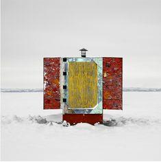 ice huts | STEPHANIE E. CALVET