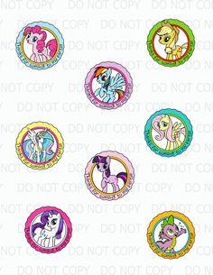 Printable DIY Pony Friends Princess Pony by onelovedesignsllc My Little Pony Birthday Party, 6th Birthday Parties, Girl Birthday, Birthday Ideas, Little Poney, Celebrate Good Times, Rainbow Dash, Favor Tags, As You Like
