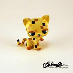Baby Ocelot custom LPS by thatg33kgirl on DeviantArt