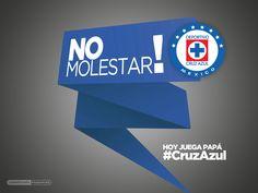 #LigraficaMX #NoMolestar #CruzAzul