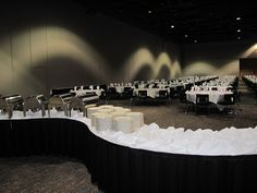 Weddings & Events at Black Bear Casino Resort, this is a set-up option to talk about with your coordinator.