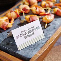 DIY Food Cards
