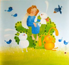 wall painting for kids room on Behance