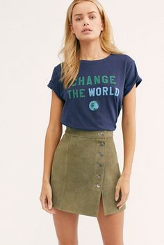 d2aff5c89ad49a Short Sleeve and Sleeveless Tops · Change The World Tee - Graphic Tee - FP  Tee s Indie Fashion