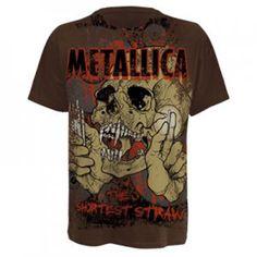 Metallica T-shirt available on www.decibel-rebel.com