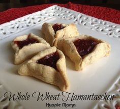 Whole Wheat Hamantaschen for Purim
