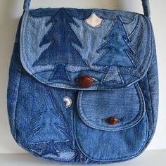 Vintage Denim Purse