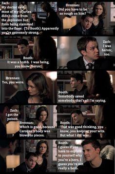 Booth haha! #Bones