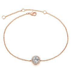 Divine Women s Cubic Zirconia Rose Gold Crystal Bracelet Price  1246.71   amp  FREE Shipping 65106c80dfe6
