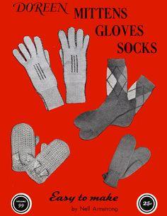 Mittens Gloves Socks | Volume 99 | Doreen Knitting Books