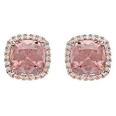 727b512af Greenwich Collection Zircon and Diamond Earrings Greenwich Jewelers, Pink  Jewelry, Jewelry Stores, Diamond