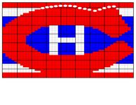 Ravelry: Montreal Canadiens Logo pattern by Rebecca Simmons