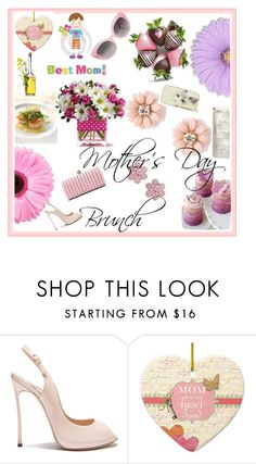 """""""Ideas for mother's day brunch"""" by promandbridaldresshouse ❤ liked on Polyvore featuring Gerber and mother"""