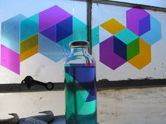 If you love FACET, check out our newest product launched on Kickstarter only. HEX6AGON is a made of 4 different colored transparent tiling vinyls, perfect for window applications. HEX6AGON doesn't obstruct your view, but colors it. Layering HEX6AGON transparent tiling vinyls create additional colors + alludes to other geometric shapes.  Proudly, just like FACET, HEX6AGON is made + all materials sourced in California.  HERE IS THE LINK:…