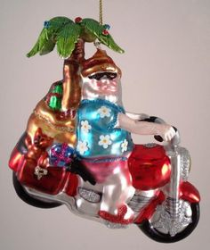 Motorcycle Riding Santa Tropical Christmas Ornament North Star,http://www.amazon.com/dp/B0049CA8WK/ref=cm_sw_r_pi_dp_J8Oetb1KPEV24BDF
