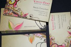 Dawn Toner – Beauty Consultant Business Cards
