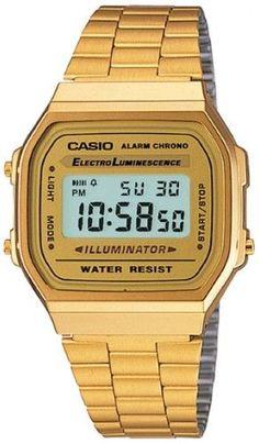 Casio Men s A168WG-9WDF Base Metal Watch 5d46102f45