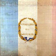 Tricolore with the motto 'Live Free or Die' (1792)
