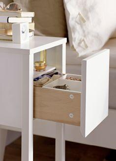 modern narrow nightstand wooden dark espresso wenge chair side
