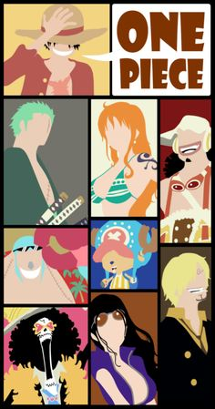 One piece poster - faceless one piece - Faceless poster
