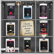 Choose your scent. Choose your jewelry. Choose yours at https://www.jewelryincandles.com/store/jenniferskelton