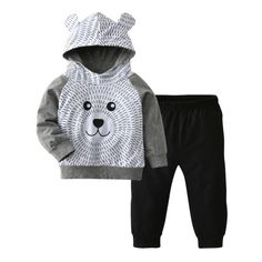 403fb6645b3 Happy Bear Patterned Clothing Set. Infant ClothingClothing SetsClothing  PatternsKids ClothingBaby ...