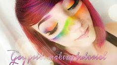 rainbow makeup lgbt - YouTube