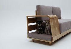 Cozy Pet Nook Hidden Within Everyday Sofa - My Modern Metropolis