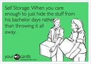 Save your relationship with a self storage unit!