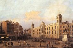 London: Northumberland House by CANALETTO #art